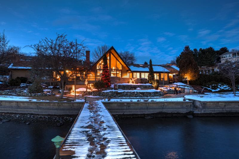 Burn Up the Slopes, Chill by the Fireplace:   Canada's Quails' Gate Winery Offers Dream Winter Getaway