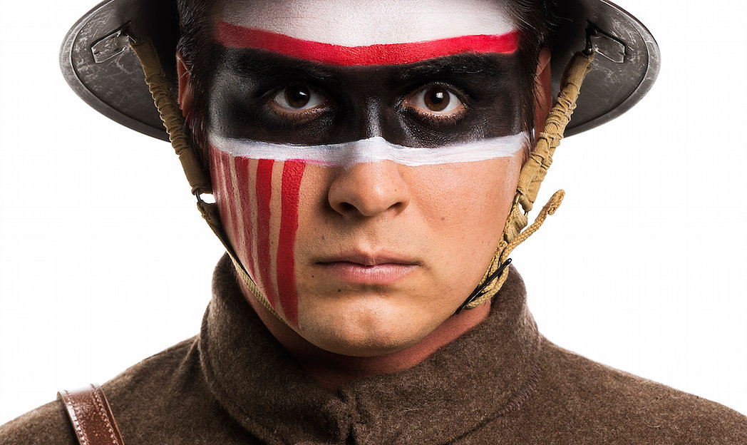 Hardline Productions Weaves Riveting Tale  of First Nations on the Front Lines in WWI Drama  _– REDPATCH –
