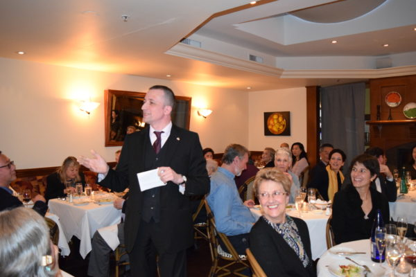 French Consul General Jean-Christophe Fleury hosted the #GoodFrance meal at Bistro Pastis - photo courtesy of the French Consulate
