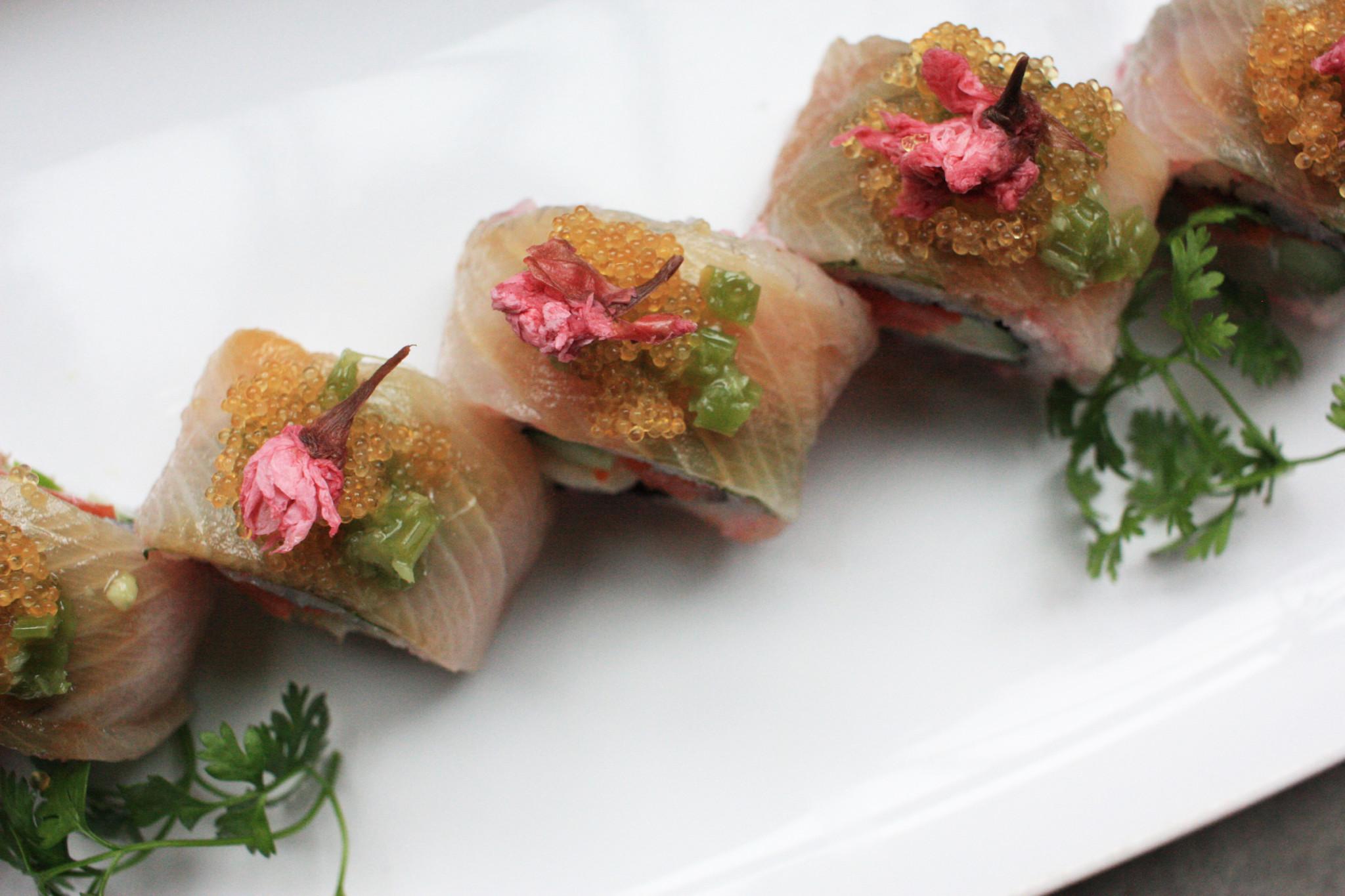 BLOOMING PINK  New sakura-inspired dishes and cocktails at Aburi Restaurants' Miku, Minami, and Gyoza Bar