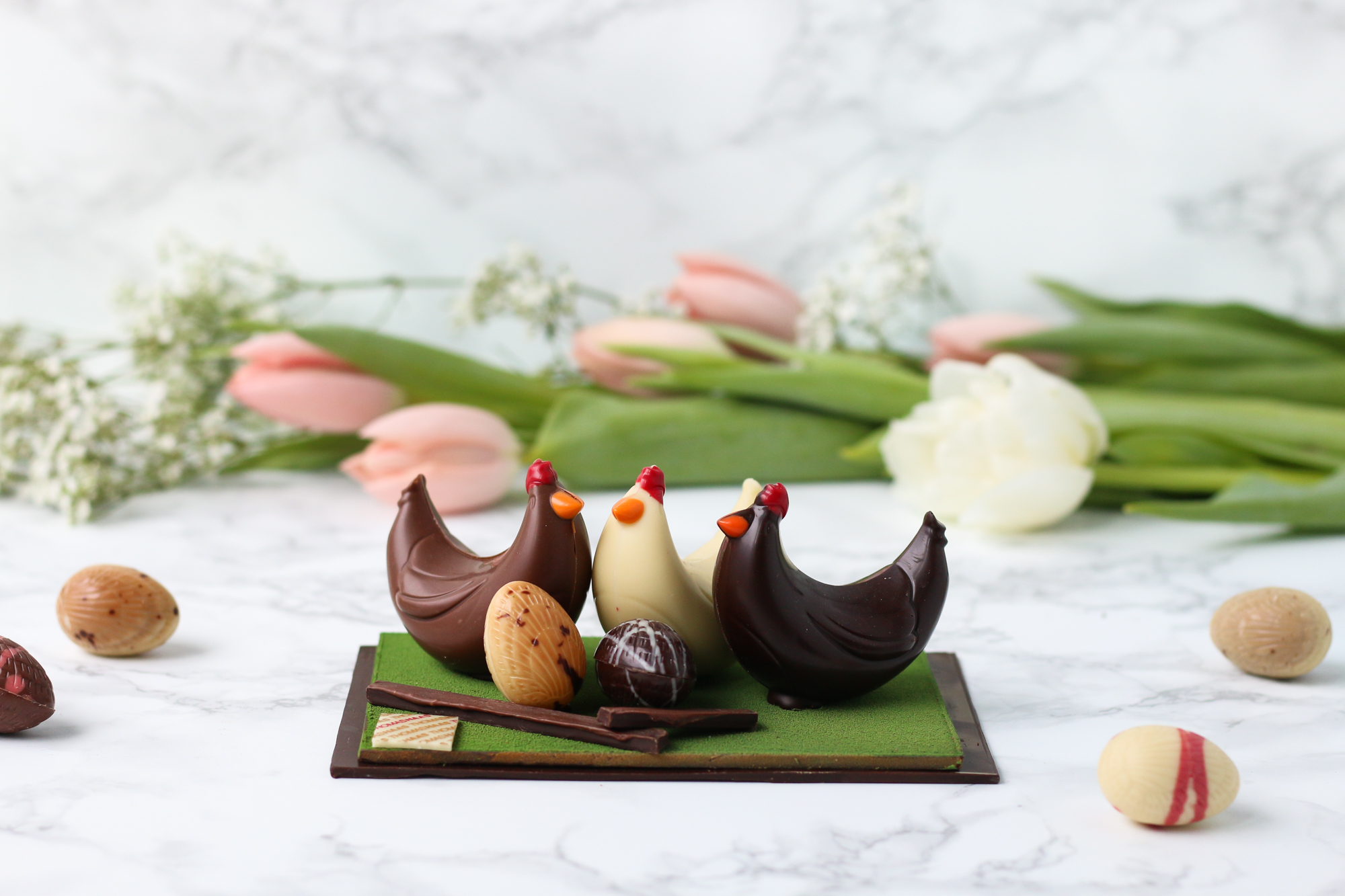SPRINGTIME SWEETS: CHOCOLATIER THOMAS HAAS UNVEILS LATEST COLLECTION OF EASTER-THEMED CONFECTIONS