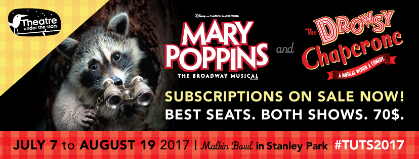 Theatre Under the Stars Proudly Announces Week-Long Hold Over  of Critically Acclaimed 2017 Season