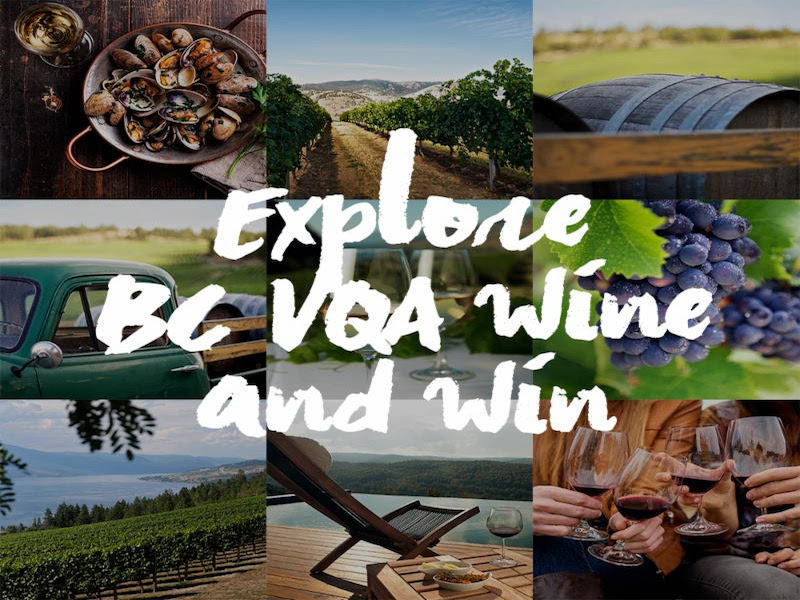 Support the Home Team at  Free #ExploreBCWine Tastings