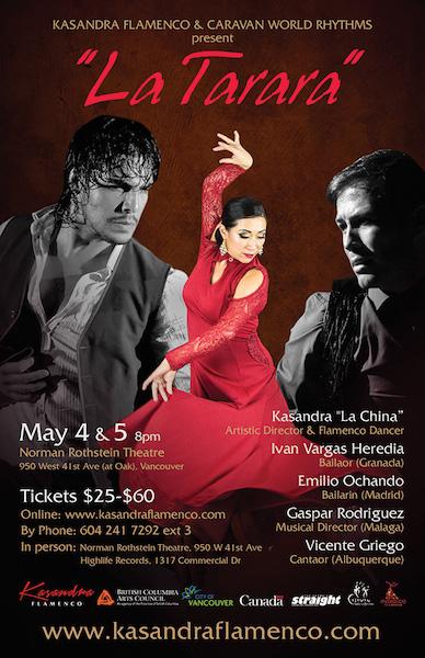 Kasandra Flamenco Presents – LA TARARA