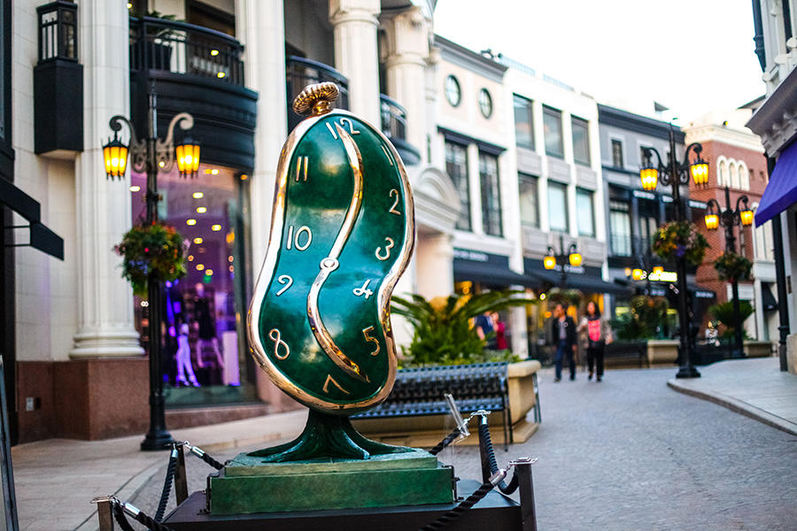 ORIGINAL SALVADOR DALI SCULPTURE TEMPORARILY GIFTED TO THE CITY OF VANCOUVER