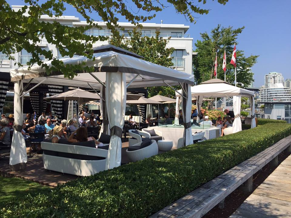 Dockside Restaurant and the Coal Harbour Liquor store present the Spring Patio Tasting