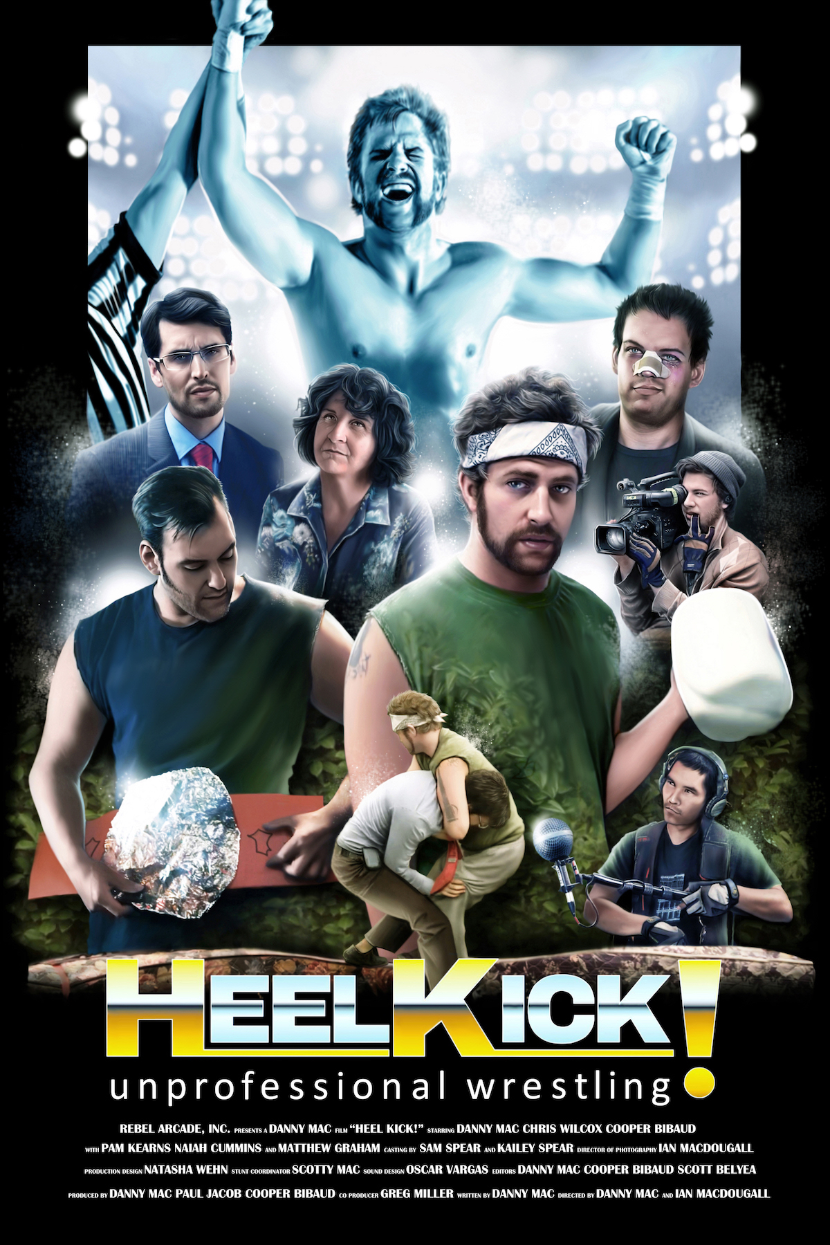 HEEL KICK! -unprofessional wrestling-