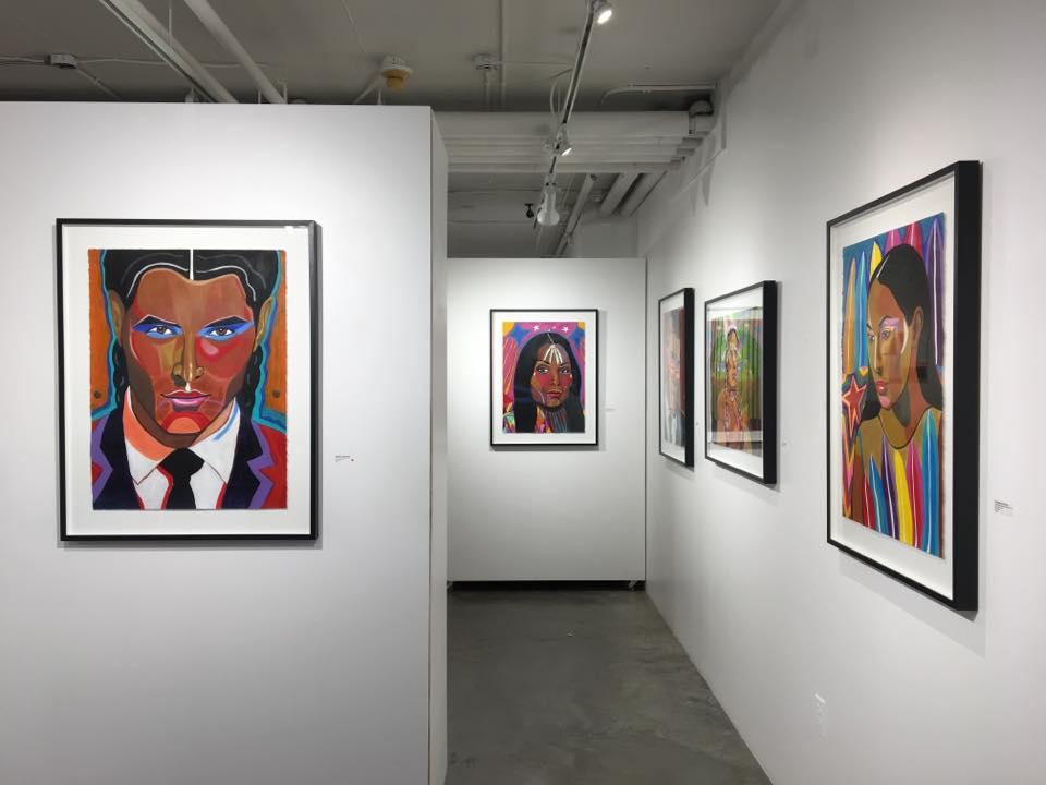 "George Littlechild's ""Warrior"" Exhibit at Kimoto Gallery until April 29"