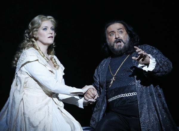 Otello and Desdemona - photo by Tim Matheson