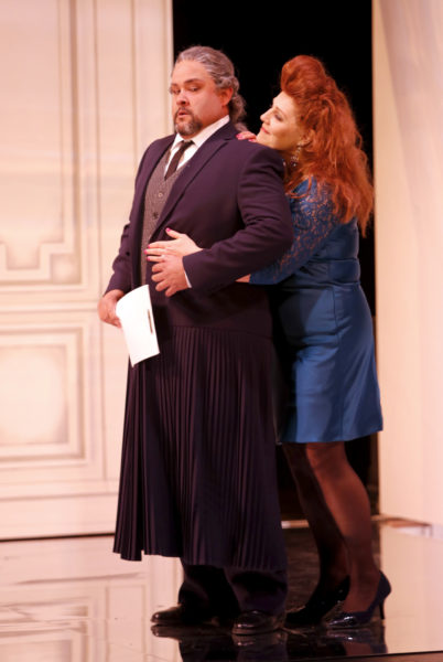 The Marriage of Figaro - Dr. Bartolo and Marcellina. Photo by Tim Matheson.