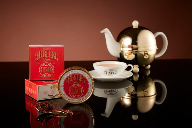 TWG Tea Celebrates Canada's Milestone Birthday with the Limited Edition Jubilee Tea