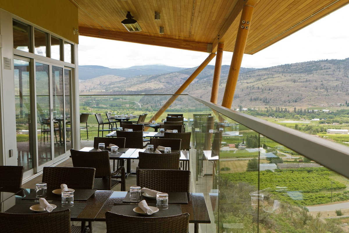 Dining in the Okanagan – Miradoro at Tinhorn Creek