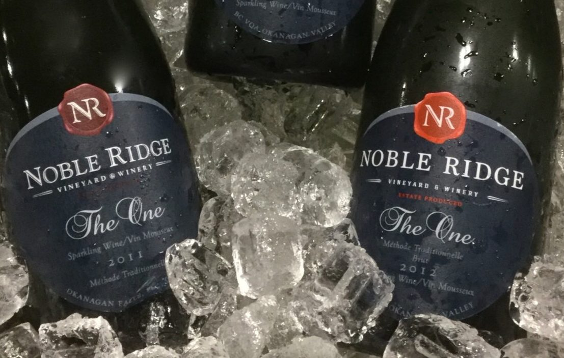 "Noble Ridge's ""The One"" Sparkling Awarded SPARKLING WINE OF THE YEAR!"