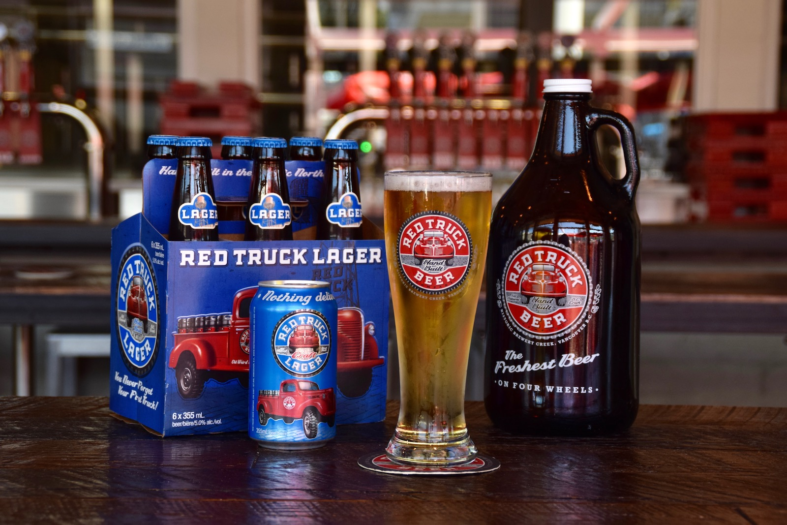 Red Truck Lager awarded Silver Medal at the 2017 Canadian Brewing Awards