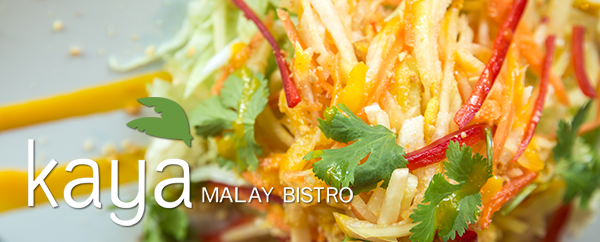 Kaya Malay Bistro's summer Saturday & Sunday Anniversary Special
