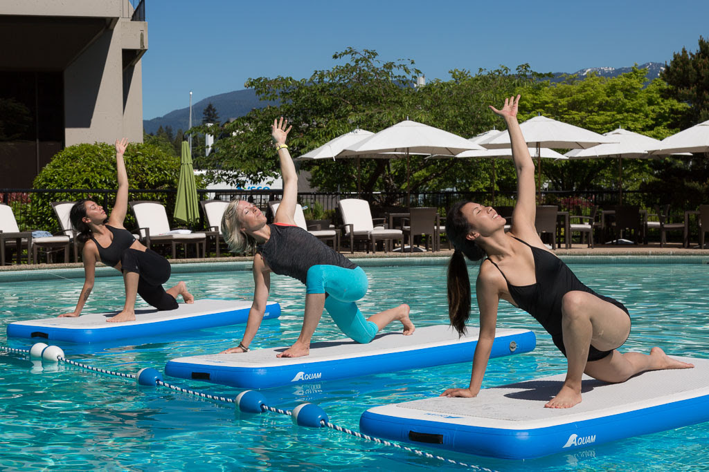 The Westin Bayshore, Vancouver, invites locals to enjoy new Summer Pool Experience and Liquid Yoga