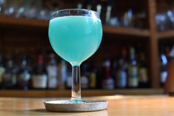 L'Abattoir's Rhapsody Pride Crawl cocktail. Photo by Cathy Browne