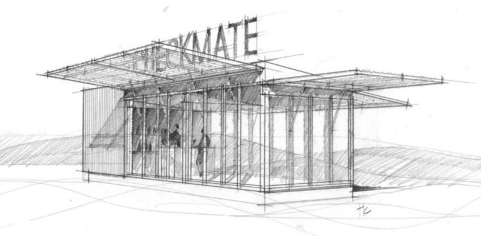 CheckMate Artisanal Winery: THE INSTALLATION opening late July in Oliver, BC