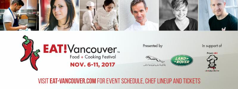 Winner of Top Chef Canada Joins EAT! Vancouver 2017