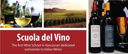 The first Wine School in Vancouver, exclusively focused on Italian wine