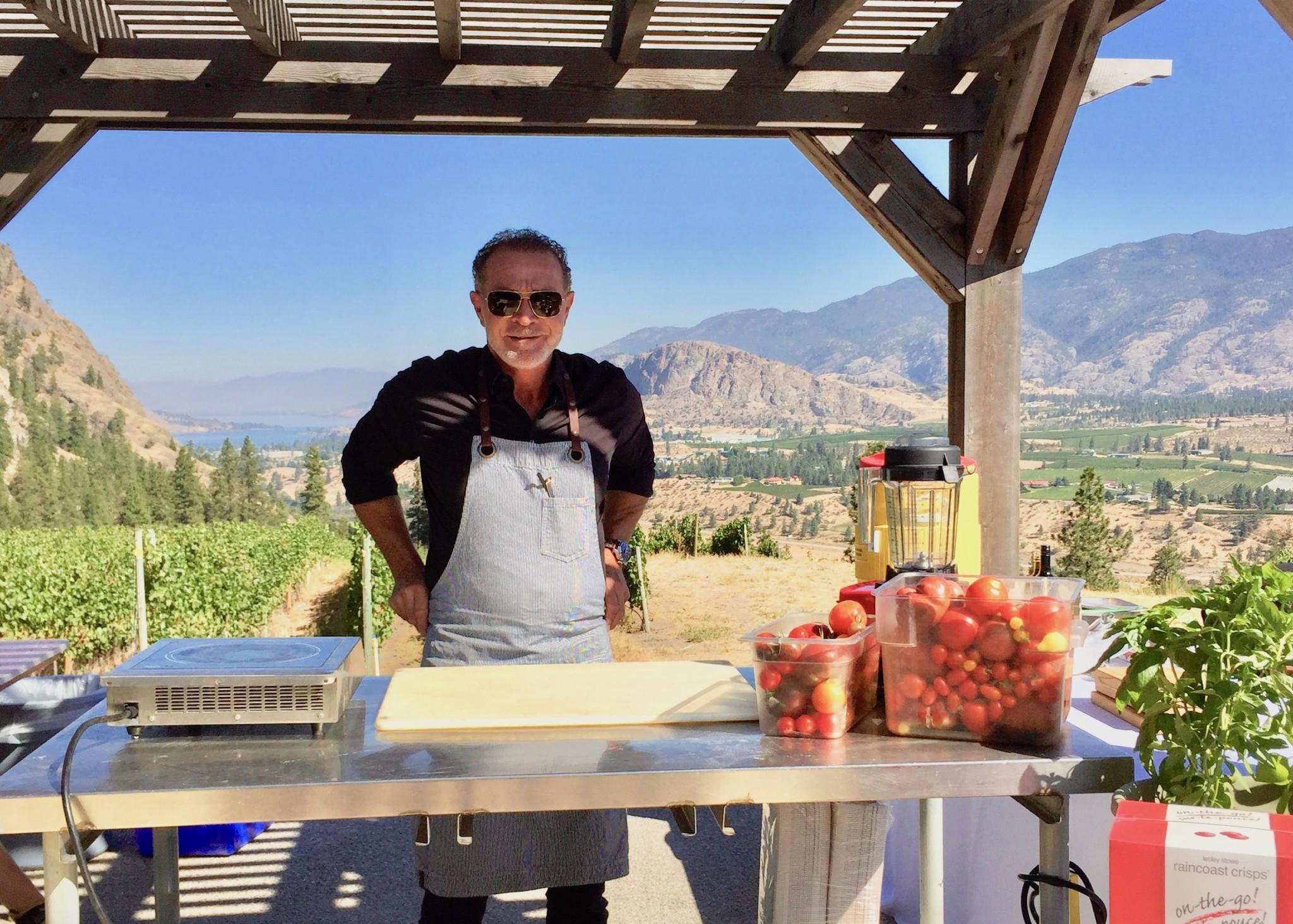 #TasteofThursday Chef meets BC Grape Okanagan – Chef Mark McEwan Ricotta Gnocchi recipe