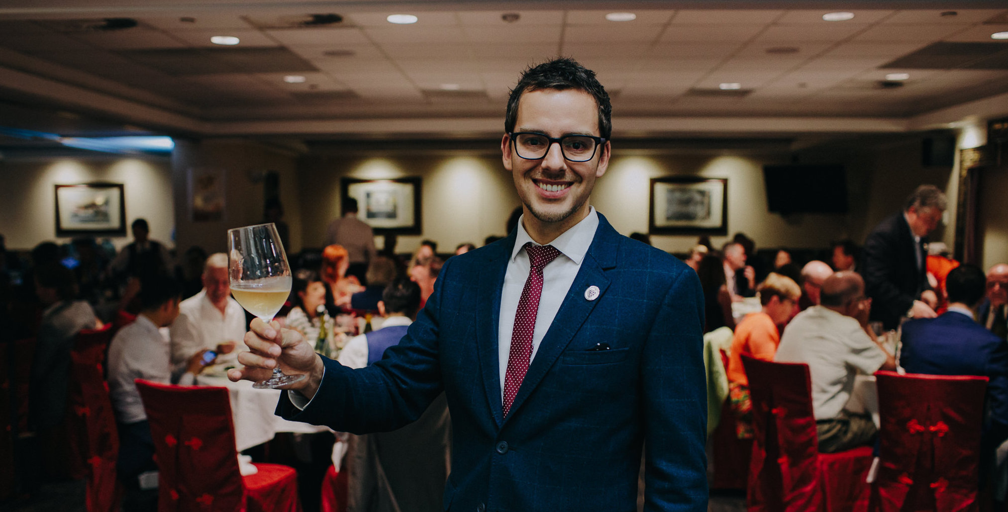 The Best Sommelier of Canada, 2017 is Carl Villeneuve-Lepage