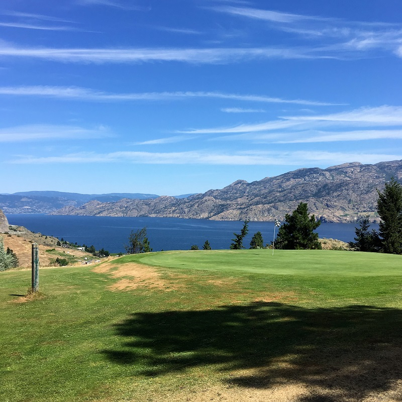 Divine to Golf Nine in South Okanagan