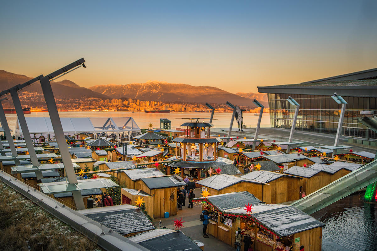 Vancouver Christmas Market Officially Opens its Doors for 8th Annual Treasured Holiday Tradition