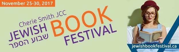 The 33rd Annual JCC Jewish Book Festival  November 25–30, 2017