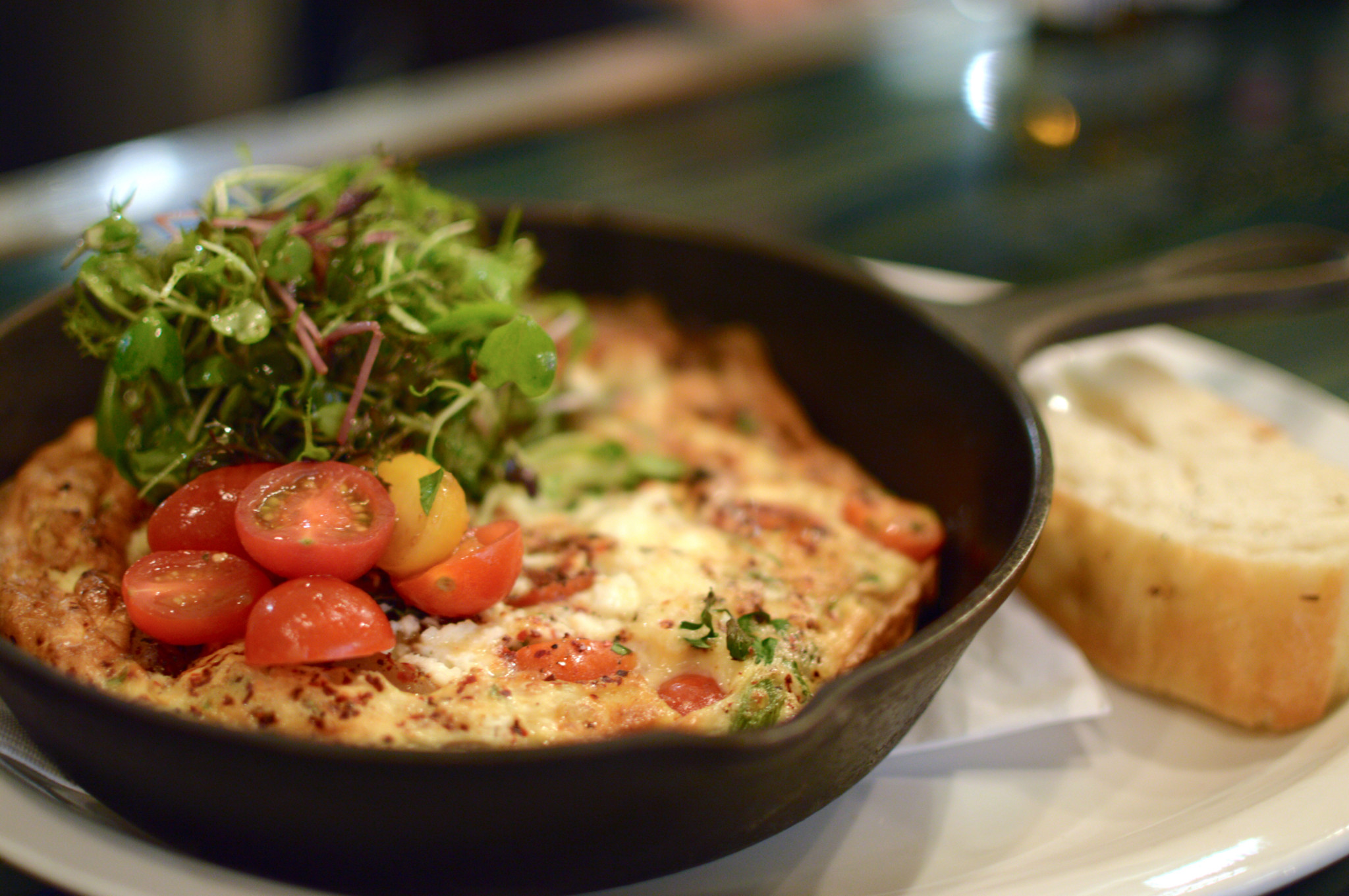 "Winter Holiday ""Hangover"" Frittata recipe – Café Medina"