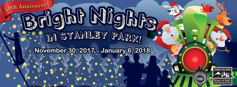 20th Annual BRIGHT NIGHTS in STANLEY PARK!!