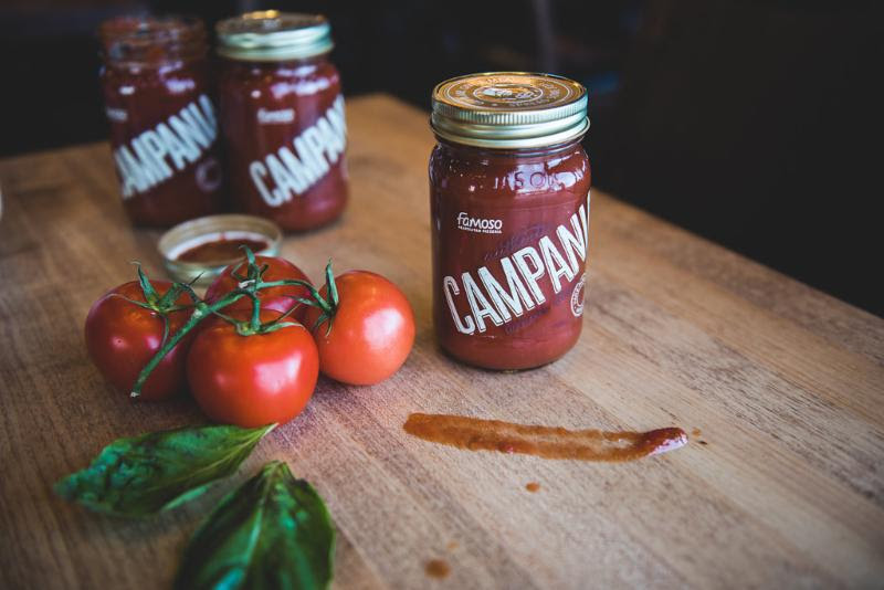 It's the sauce that counts: Famoso Neapolitan Pizzeria and Mealshare partner to fight youth hunger with sale of Campania Tomato Sauce jars