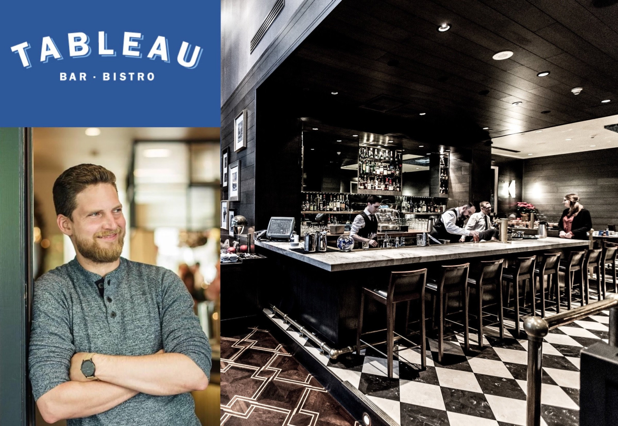 Tableau Welcomes New Lead Bartender: Alex Black