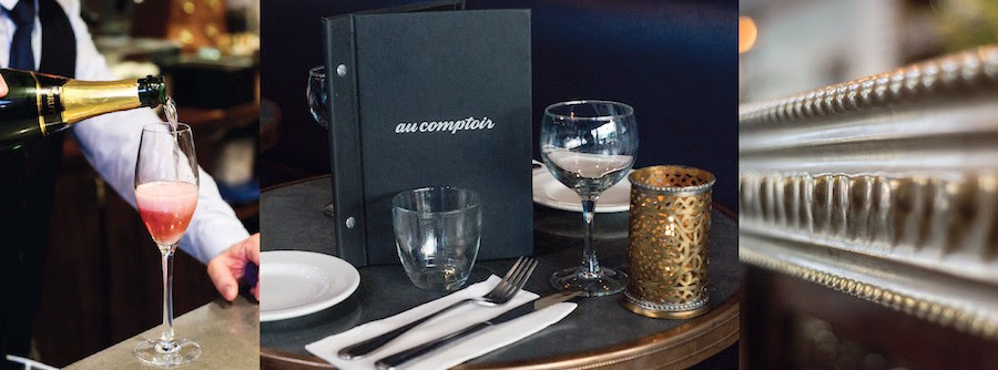 MEILLEURS VŒUX: AU COMPTOIR COUNTS DOWN TO 2018 WITH NEW YEAR'S EVE DINNER SERVICE