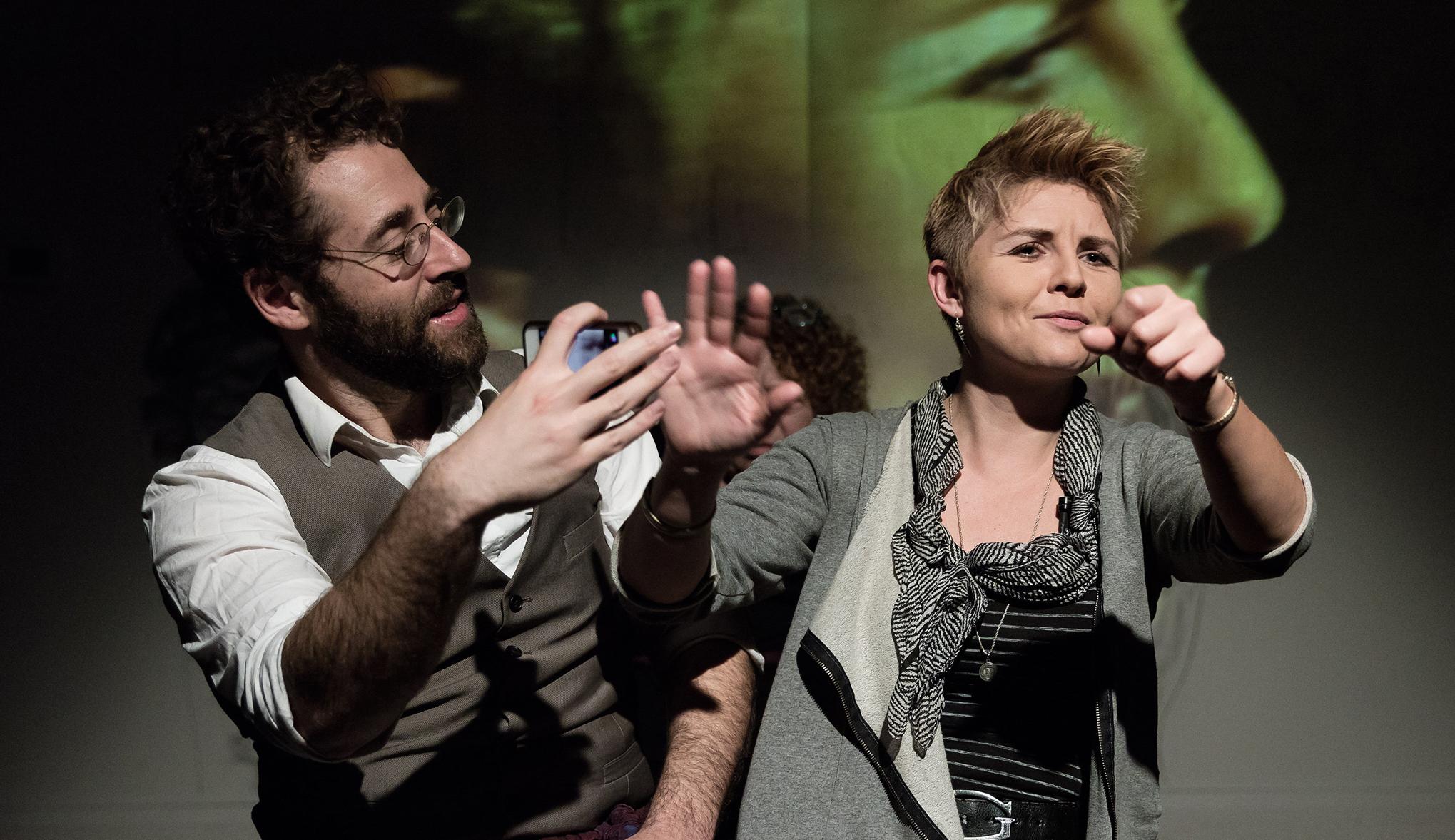 18th ANNUAL CHUTZPAH! FESTIVAL  Lisa Nemetz International Jewish Performing Arts Festival  February 15 – March 15, 2018