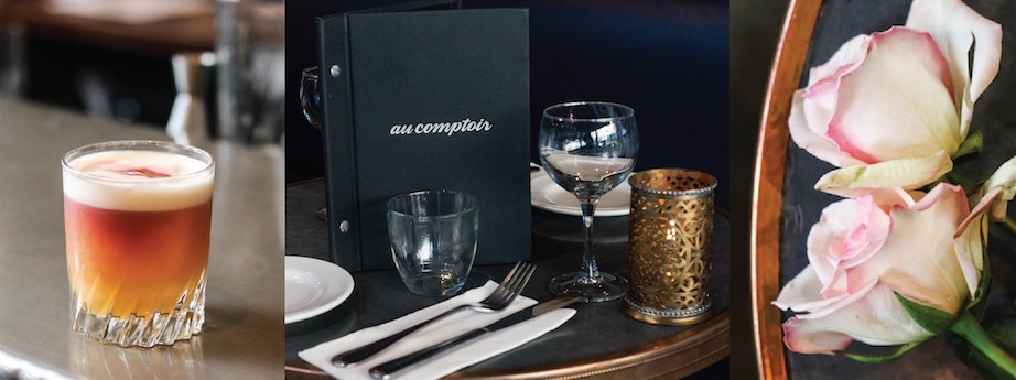 LA SAINT-VALENTIN: AU COMPTOIR CELEBRATES VALENTINE'S DAY WITH EXCLUSIVE DINNER SERVICE ON WEDNESDAY, FEBRUARY 14