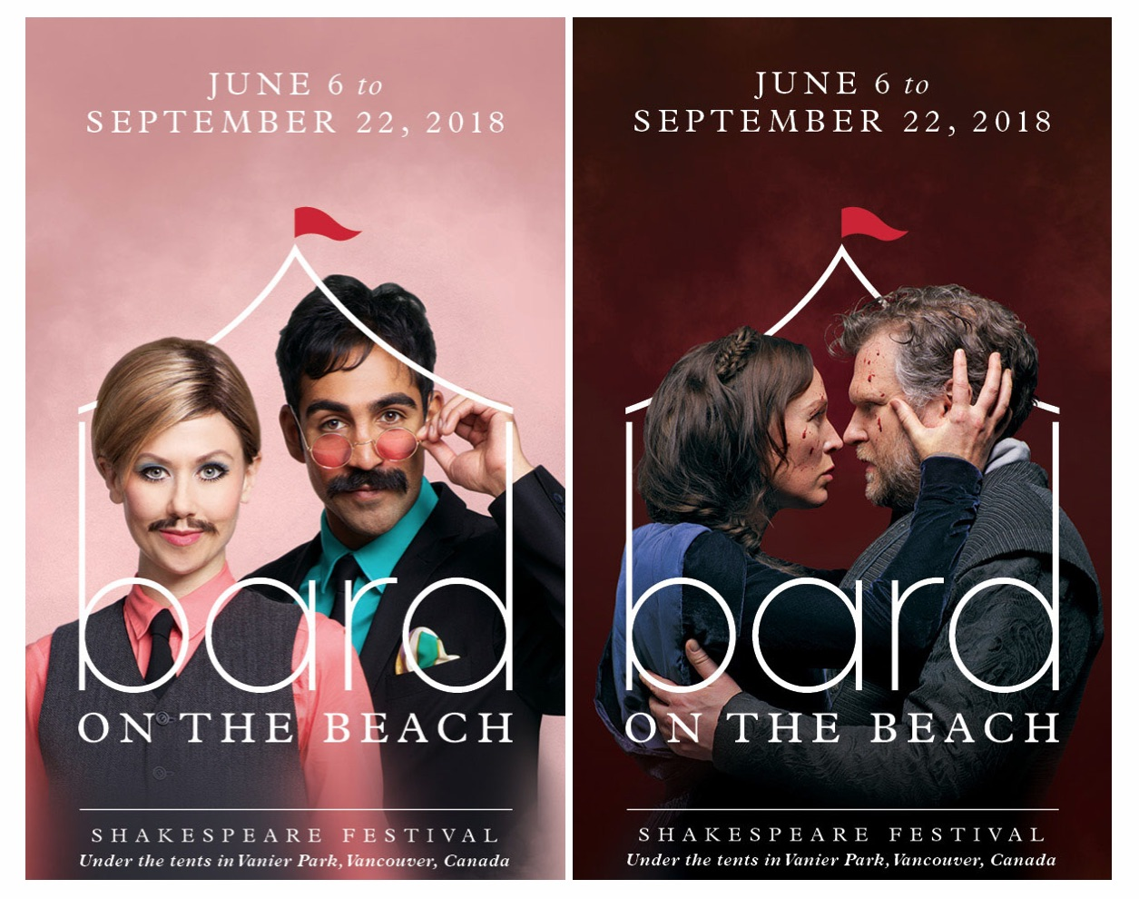 Bard's New Look:  Vancouver's Biggest Theatre Festival Gets a Visual Rebrand