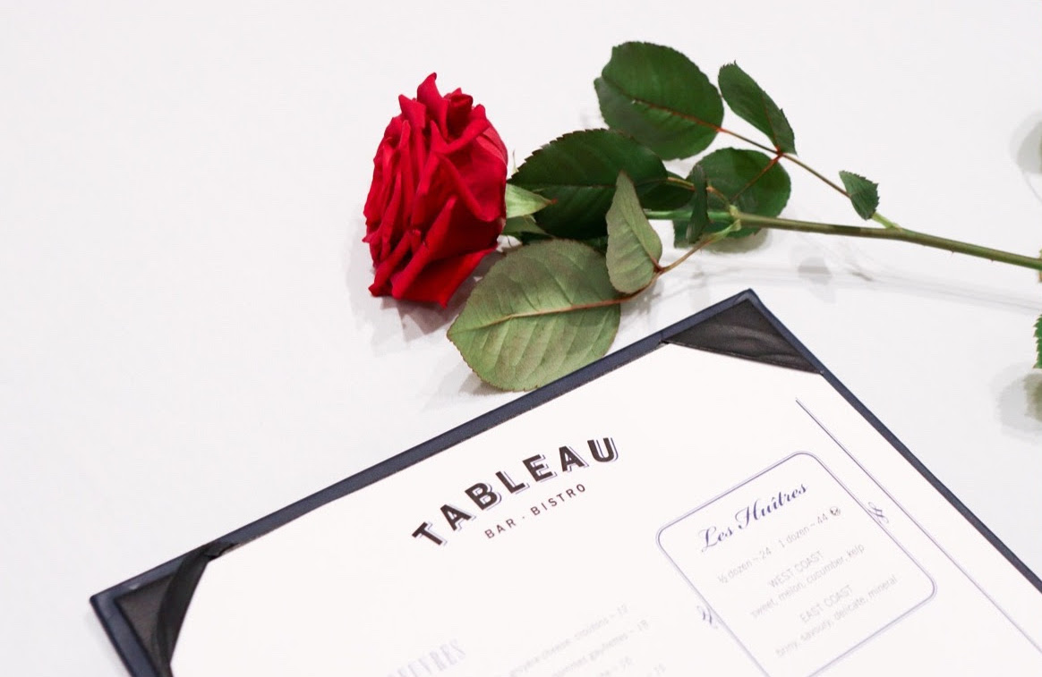 Enjoy a romantic French-filled Valentine's Day at Tableau Bar Bistro