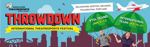 Throwdown Gets 2018 Off to a Laughing Good Start