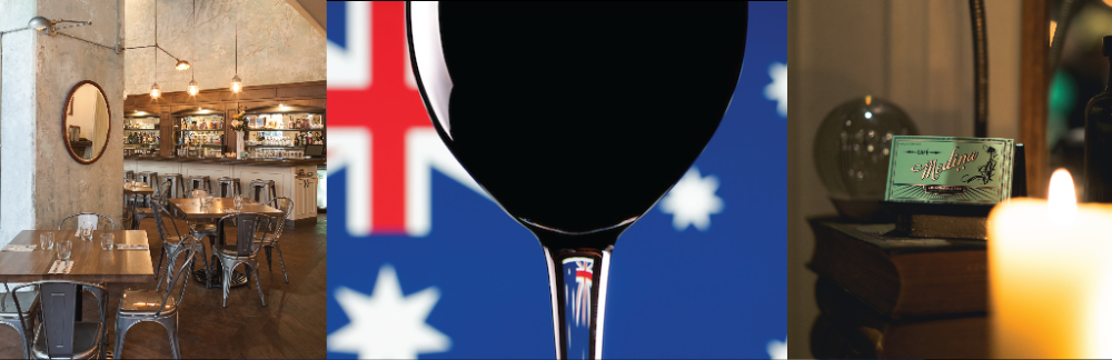 CAFÉ MEDINA PLAYS HOST TO SECOND ANNUAL AUSTRALIA DAY WINE DINNER ON FRIDAY, JANUARY 26