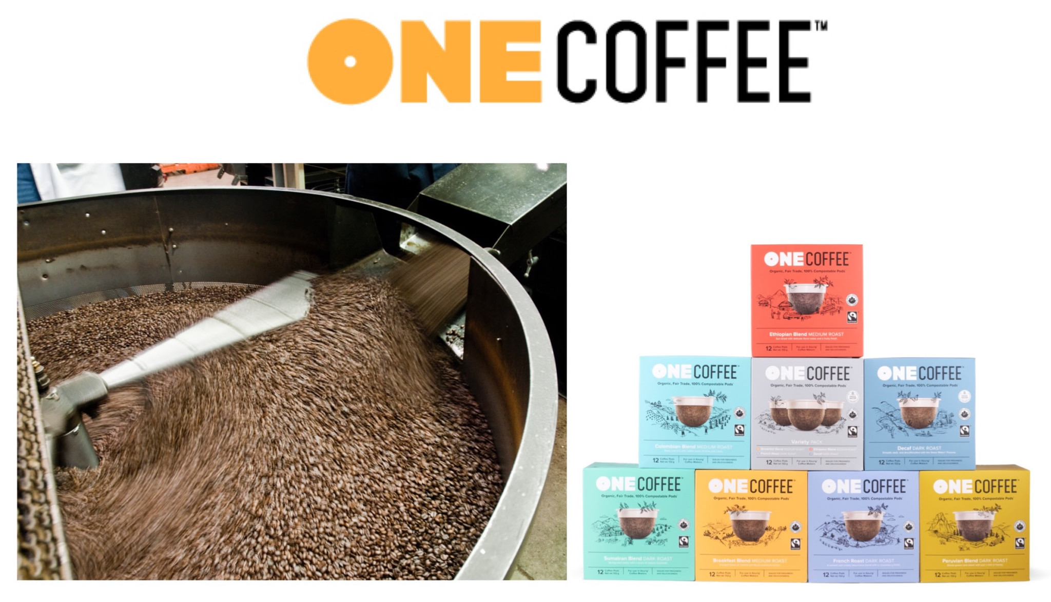 OneCoffee Launches 100%CompostableCoffeePods