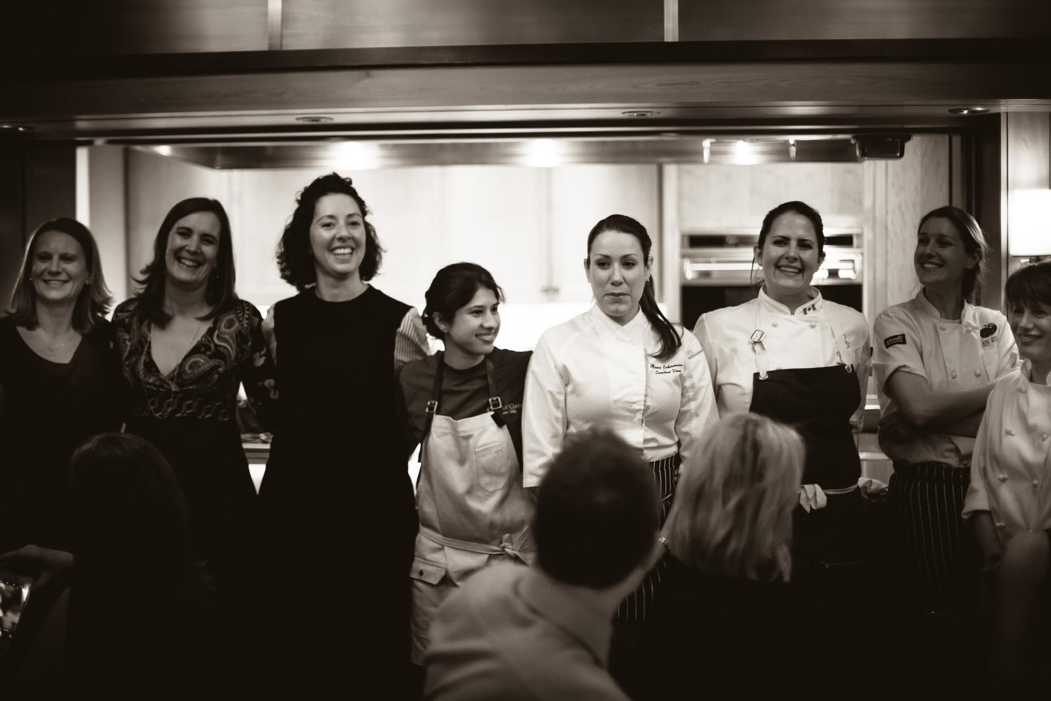 ALL-FEMALE CHEF LINE-UP UNITE FROM OKANAGAN & ALBERTA FOR INTERNATIONAL WOMEN'S DAY DINNER