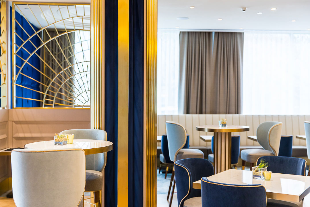 Ready for takeoff: lunch and tea service at The Westin Bayshore's H Tasting Lounge