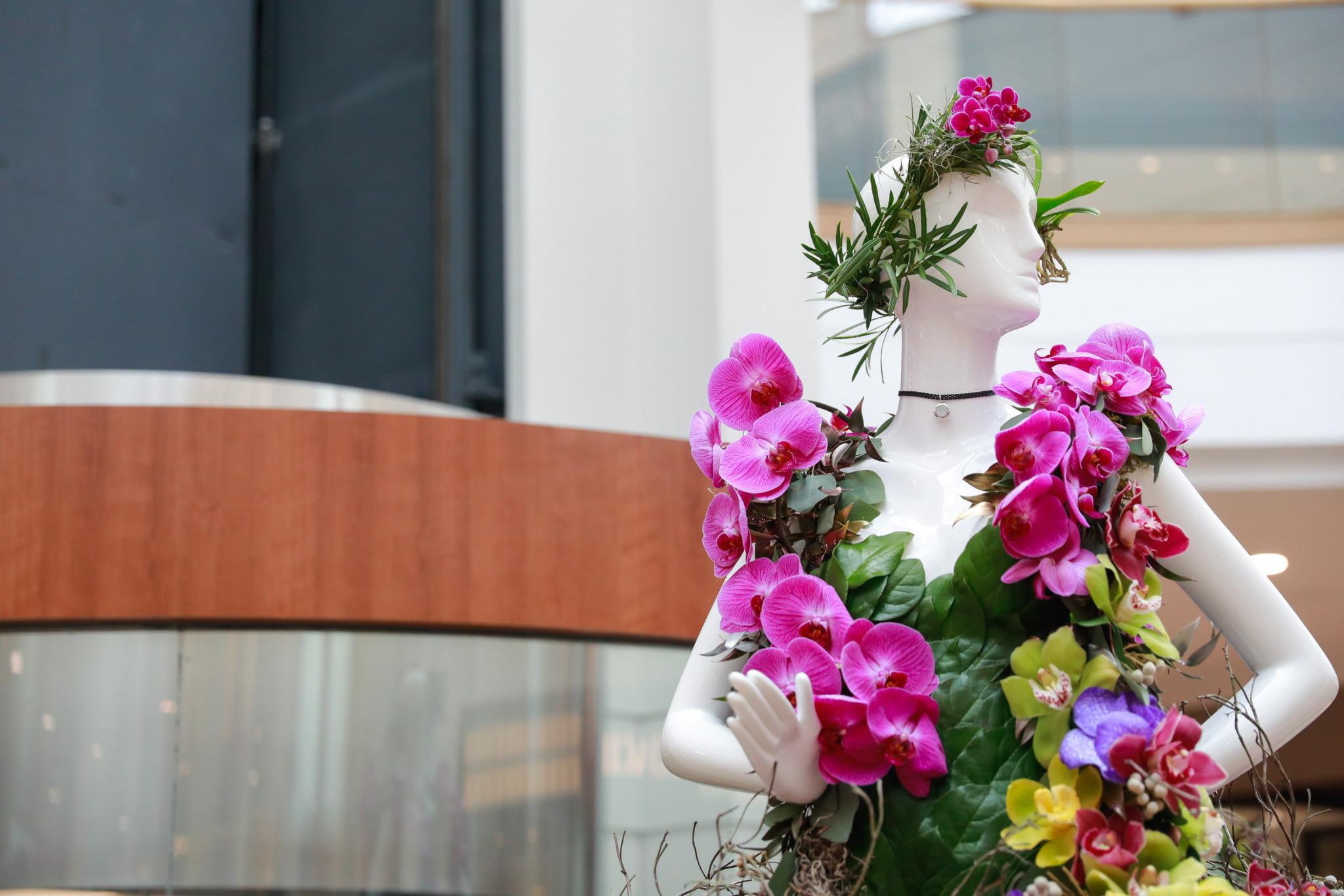 Fleurs de Villes' Floral Mannequin Series returns to Vancouver in 2018