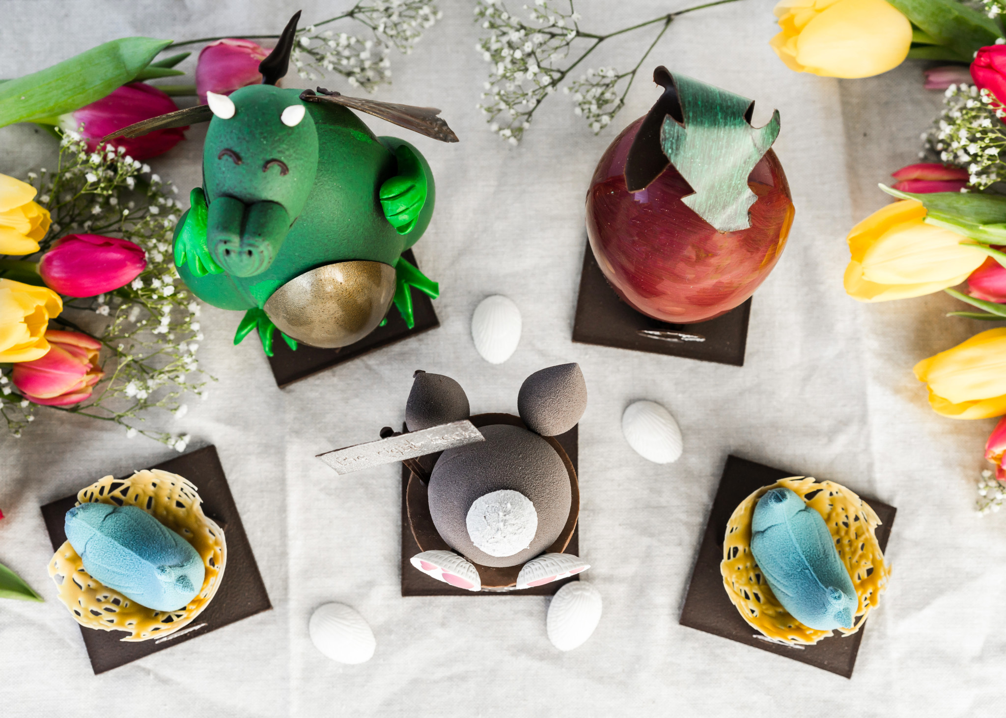 DON'T CRACK THESE EGGS Chez Christophe unveils 2018 Easter Collection