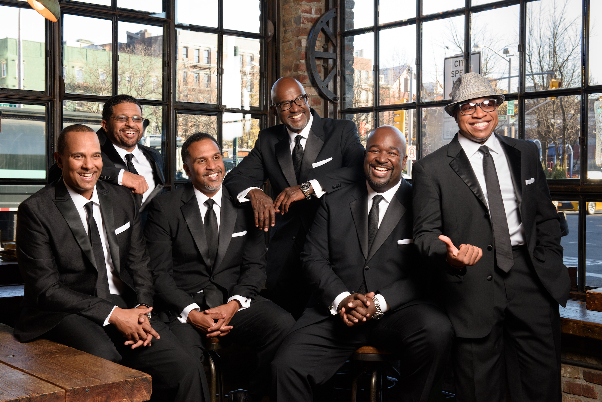 Chor Leoni presents the Vancouver Premiere of Smooth and Soulful A Cappella Cavaliers -TAKE 6 –