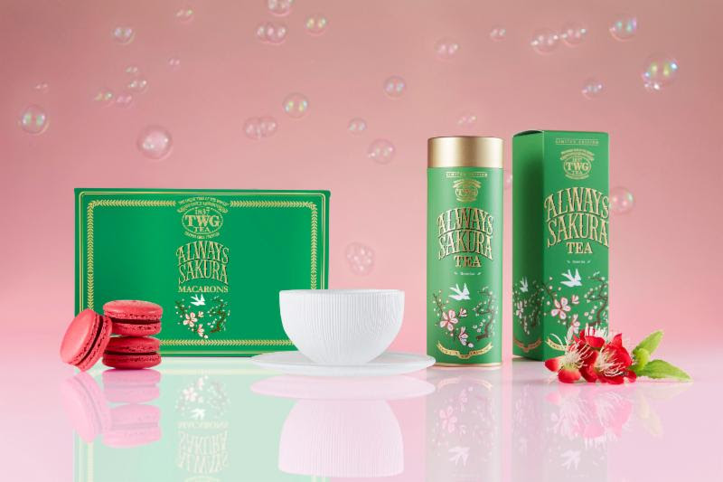 A Blossoming Spring with Always Sakura Tea