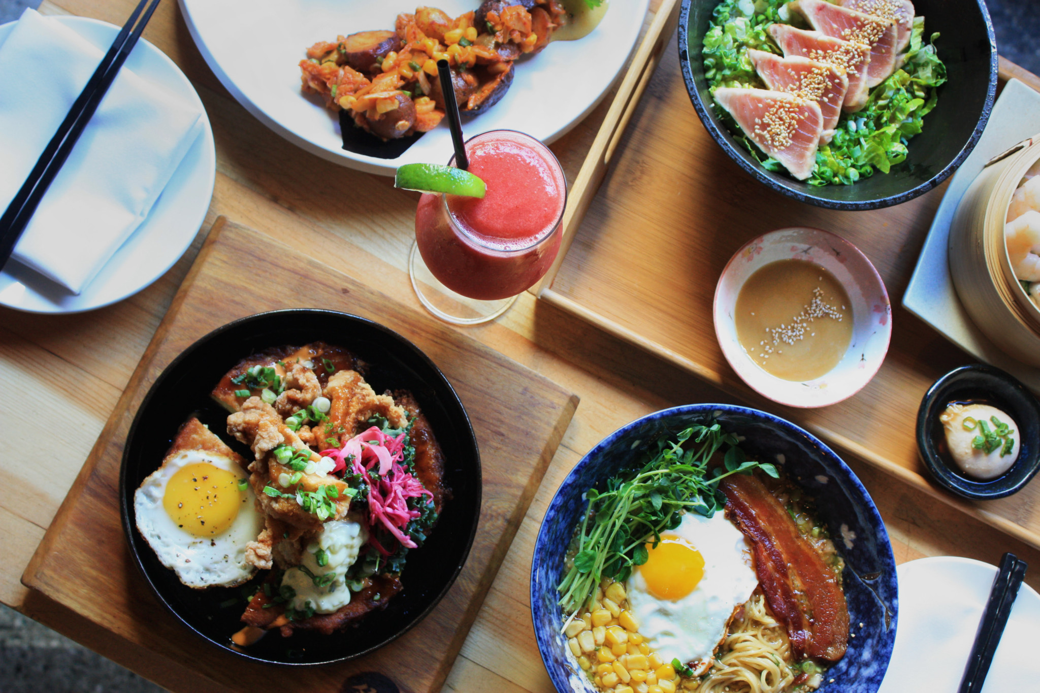 GYOZA BAR LAUNCHES BRUNCH