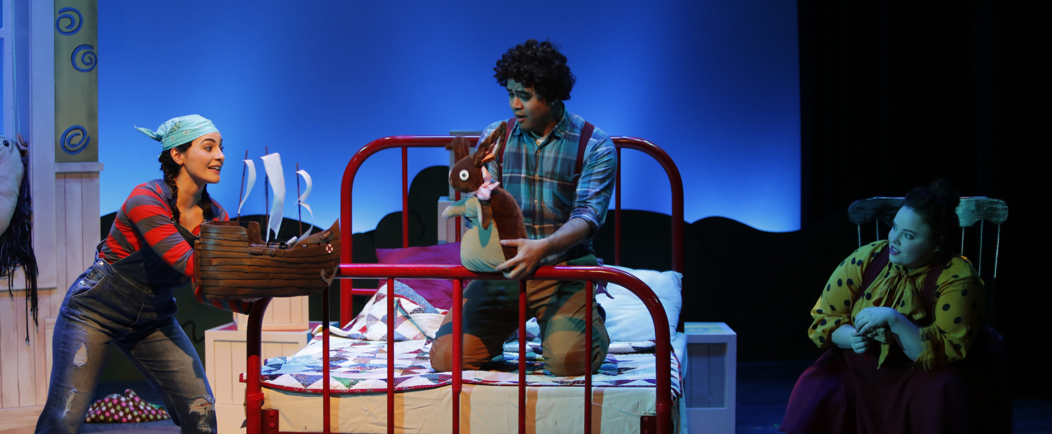 Two toddler thumbs up for Carousel Theatre – The Velveteen Rabbit