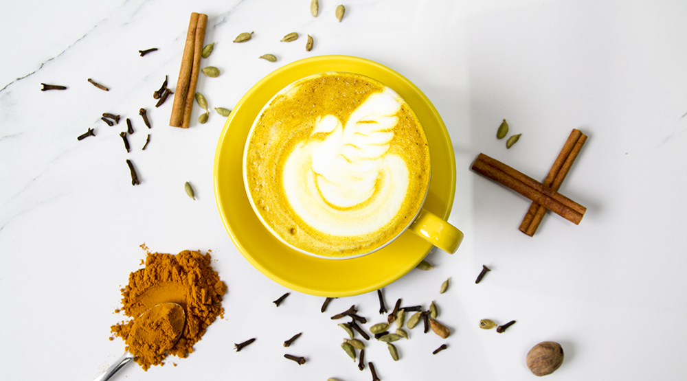 Blenz Coffee Launches the Turmeric Latte